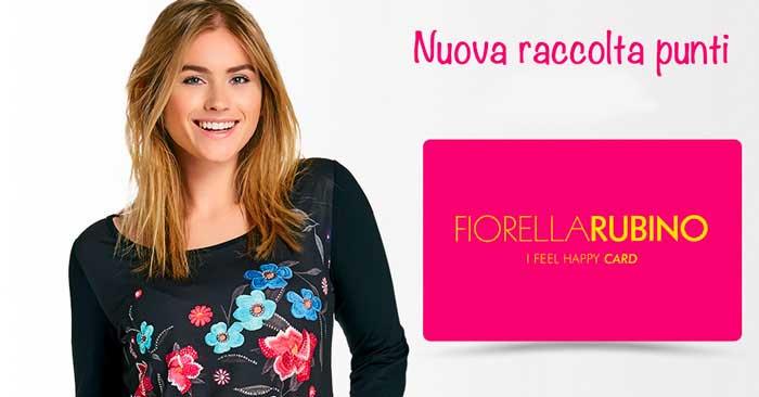 Fiorella Rubino: programma fedeltà (soglie punti e premi)