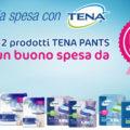 Sconta la spesa con Tena Pants: in regalo buono spesa da 5€
