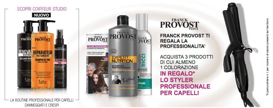Styler professionale Franck Provost