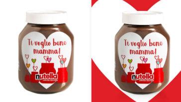 Vasetto Nutella per la festa della Mamma
