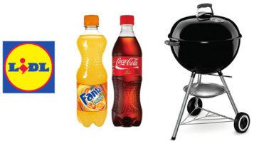 Vinci 80 barbecue Weber con Coca-Cola e LIDL