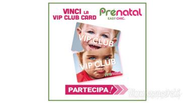 Vinci la Vip Club Card di Prenatal (instant win)