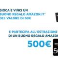 Vinci subito un buono regalo Amazon da 50,00€ con A2A