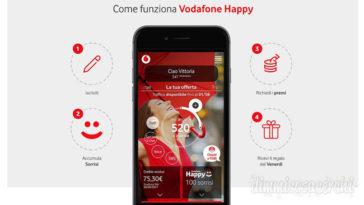Vodafone Happy 2018: il nuovo programma fedeltà che ti premia
