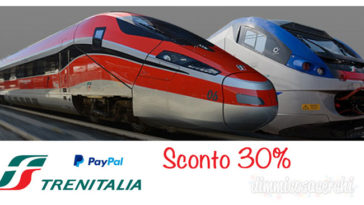 Buono sconto Trenitalia