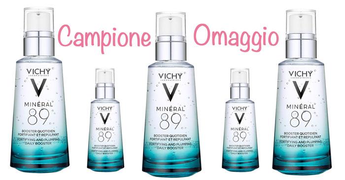 Campione omaggio Minearl89 di Vichy: richiedilo gratis