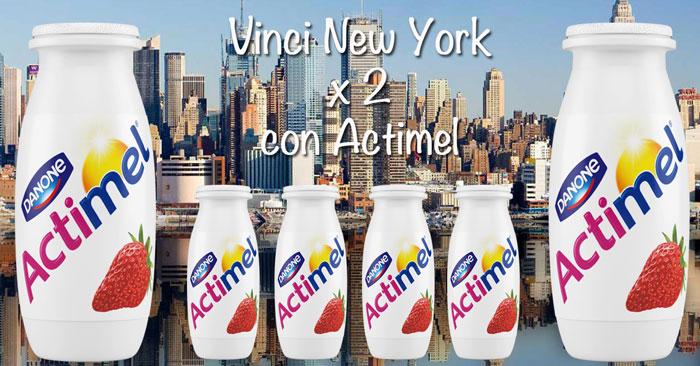 Concorso Actimel: vinci un viaggio a New York per 2