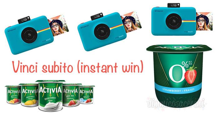 Concorso Danone L'Estate Inizia da Dentro: in palio Polaroid Snaptouch