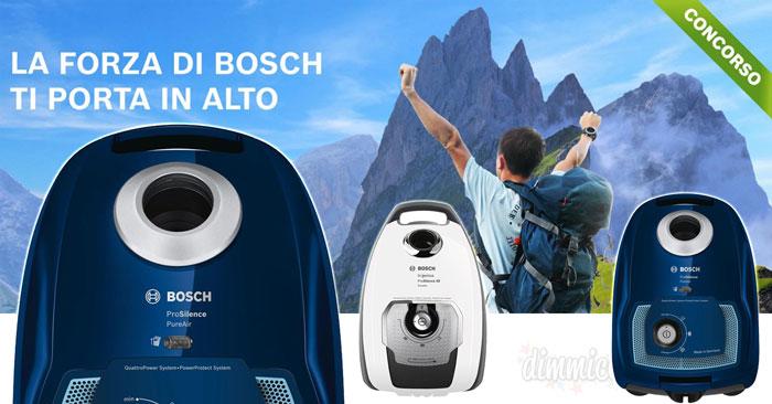 """Concorso """"La forza Bosch"""": vinci soggiorno nell'hotel più alto d'Europa"""