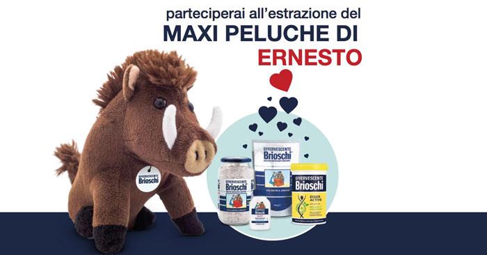 Concorso Brioschi 2018: vinci il peluche Ernesto!