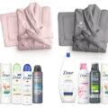 Concorso Dove: vinci set bagno completo (per 2) personalizzato con nome