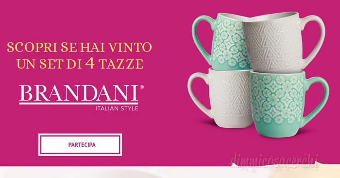 Matilde Vicenzi: vinci subito un set di tazze Brandani