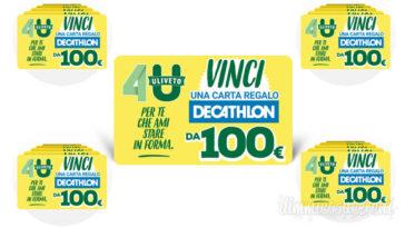 Concorso Uliveto 4U: vinci 150 buoni Decathlon da 100,00€
