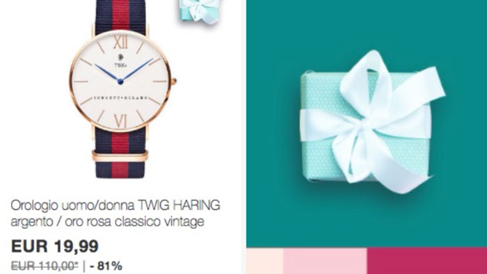 Ebay: compra Twig e ricevi una sorpresa (forse gli occhiali)