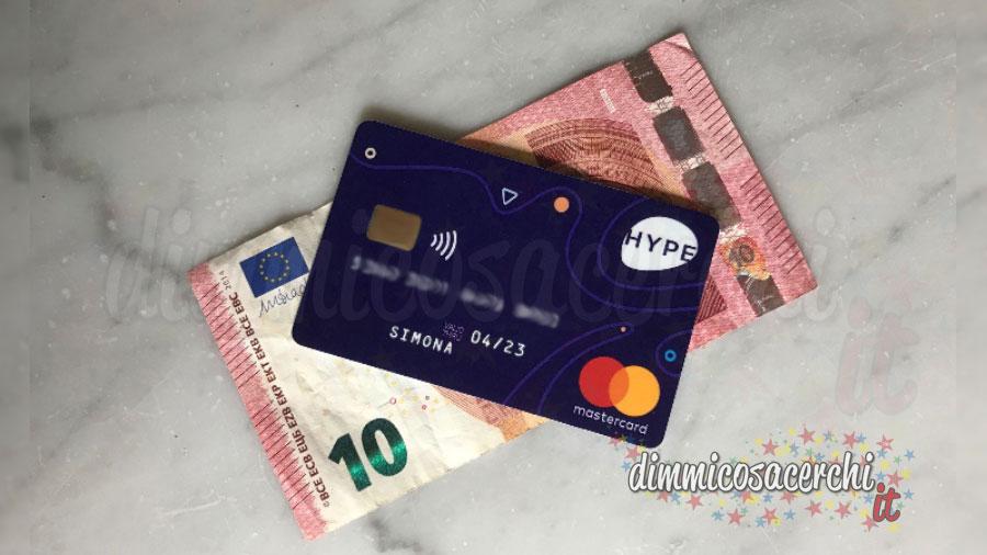 Carta Hype: come guadagnare 10€