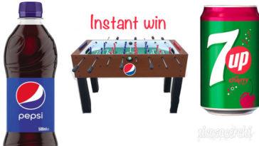 Vinci 50 biliardini con Pepsi e Lay's: instant win