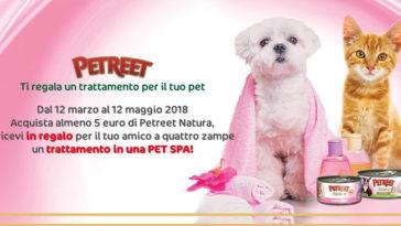 Petreet premio certo: trattamento in una PET SPA