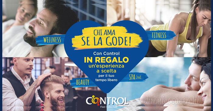 Premio sicuro Control: ricevi un trattamento benessere a scelta