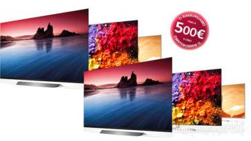 Cashback televisori LG: puoi avere fino a 500 € di rimborso