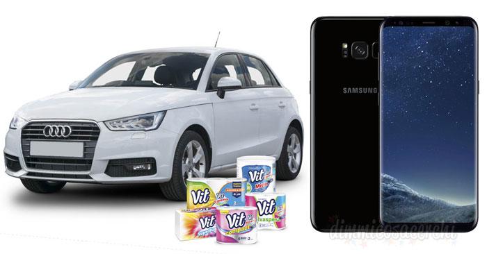 Vit ti premia: vinci Samsung S8 e Audi A1 Sportback (vale 15.798,52€)