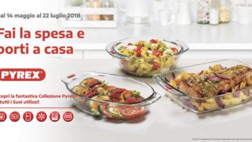 Raccolta bollini Pyrex da Auchan + concorso instant win gratuito