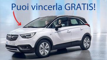 Concorso Divani&Divani: vinci auto Opel Crossland X