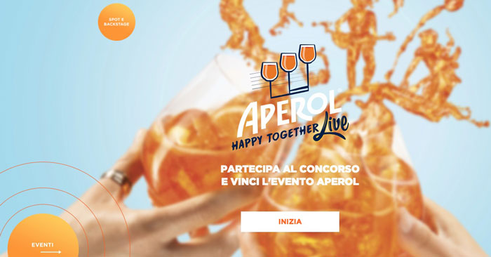 "Concorso ""Happy Together"" Aperol"