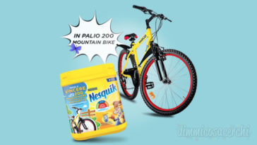 Concorso Nesquik vinci mountain bike