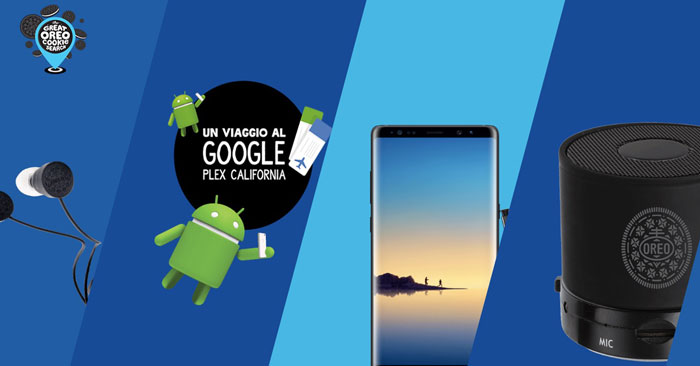 """Concorso Oreo: scannerizza il biscotto e vinci """"Googleplex"""" in California"""