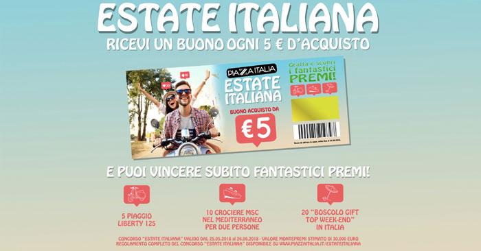 """Concorso Piazza Italia """"Estate Italiana"""""""