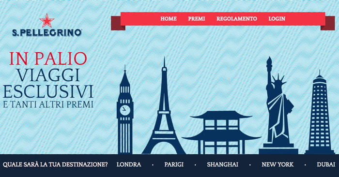 Concorso San Pellegrino: vinci pacchetti viaggio per 2 persone (instant win!)