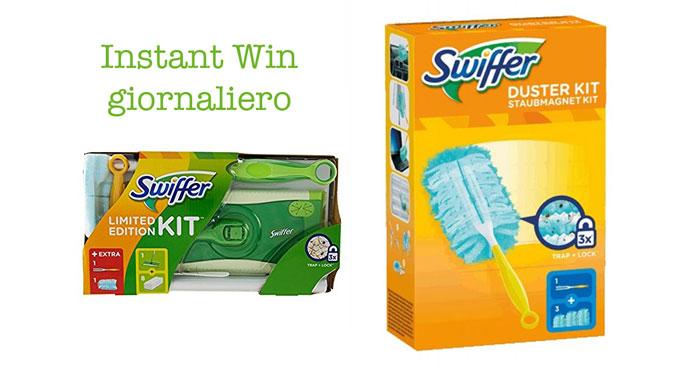 Concorso Swiffer è il momento di vincere