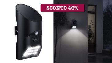 Luce Solare con Sensore di Movimento