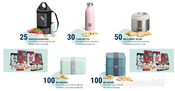Nutrifree concorso: vinci 300 Super Premi Monbento e 24 Bottles