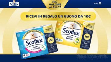 Scottex: più valore al pulito