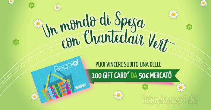 Un mondo di spesa con Chanteclair Vert