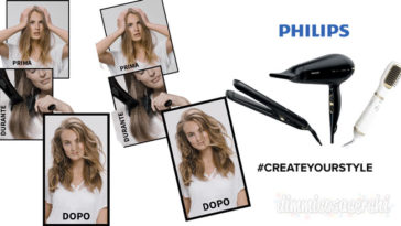 """Testanera """"Create your style"""": vinci prodotti Philips per capelli"""
