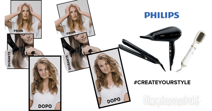 "Testanera ""Create your style"": vinci prodotti Philips per capelli"