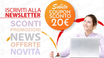 Cialde Mania: coupon sconto da 20€
