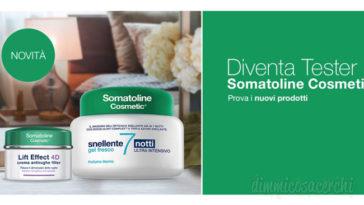 Diventa tester Somatoline Cosmetcs