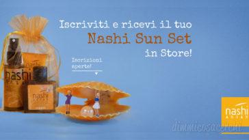 Nashi Sun Set omaggio: scarica il coupon