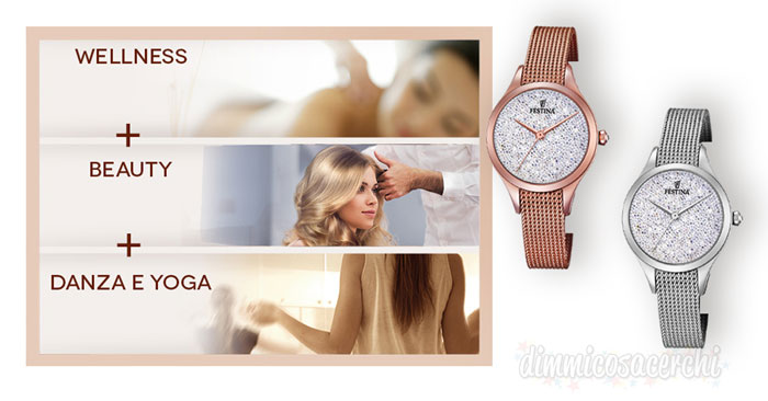 "Orologi Festina ti regalano 3 esperienze con ""Festina for you""."