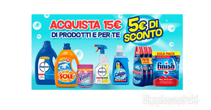 Amazon Pantry: 5€ di sconto immediato