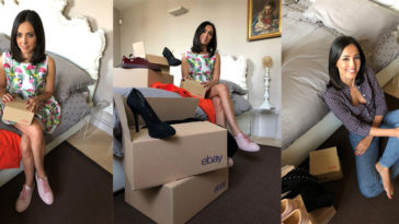 Caterina Balivo: abiti all'asta su eBay.it