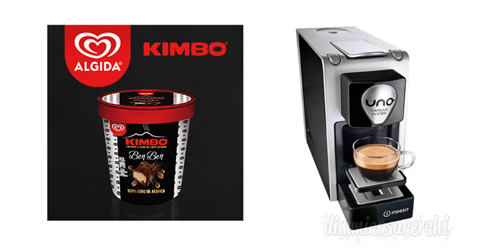 Concorso Algida e Kimbo UNO Capsule System