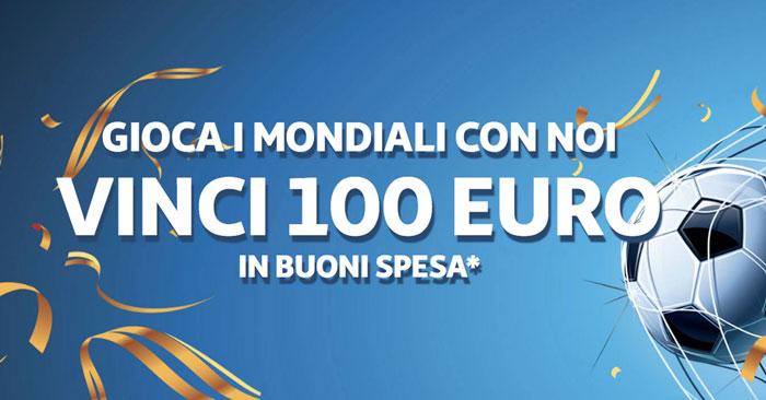"Concorso Auchan ""Vinci 100 euro"""