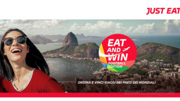 """Concorso Just Eat """"Eat and Win"""""""
