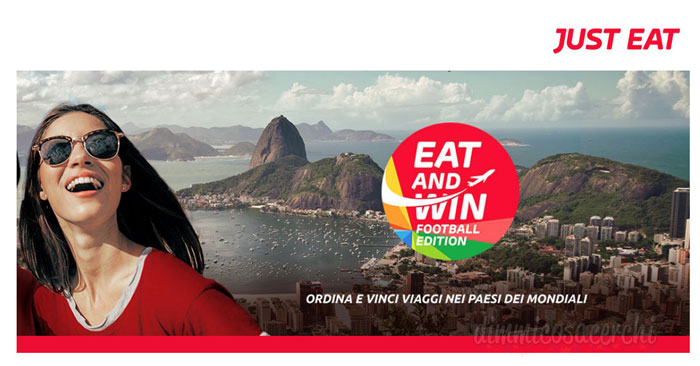 "Concorso Just Eat ""Eat and Win"""