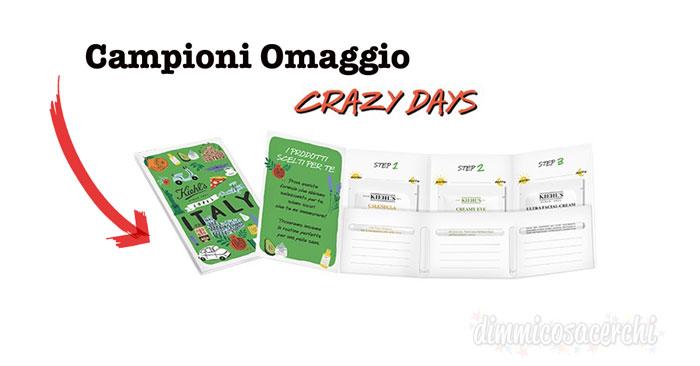 Kiehl's Loves Italy campioni omaggio