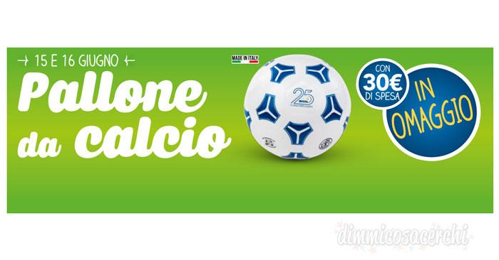 Pallone Eurospin omaggio